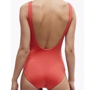 Onia Kelly One Piece Bathing Suit in Cayenne